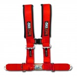 """Red 3"""" 4 point Harness Seat Belt"""