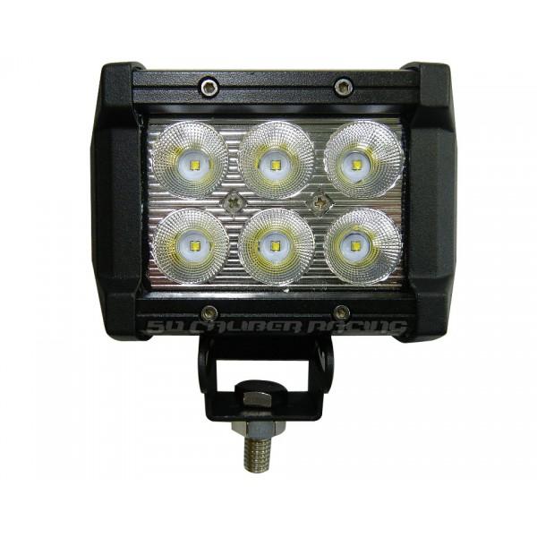 3 inch led pod cube light bar single bolt pivot off road utv spot 3 inch led light bar mozeypictures Images
