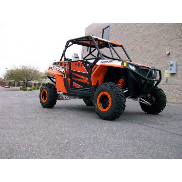 Polaris RZR 570, 800 XP900 Roll Cage with Aluminum Roof and