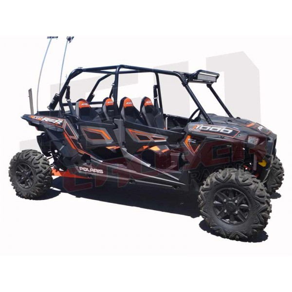 light bar rack mount led polaris rzr 30 usa made 2 seat trail 900 xp1000 s rzr4 ebay. Black Bedroom Furniture Sets. Home Design Ideas