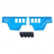 XP1000 6 Switch Dash Panel Blue