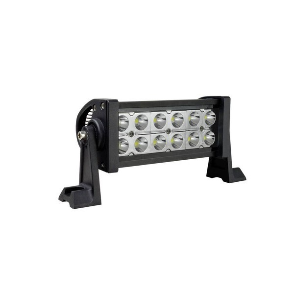 6 inch led bar combo beam off road performace light bar 6 inch led light bar front view 50 caliber racing aloadofball