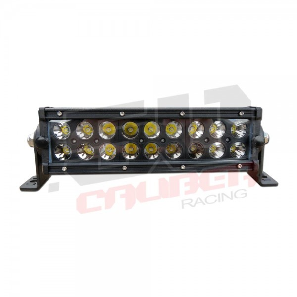 9 inch spot beam 54 watt led light bar 3 watt cree emitters with 8 inch spot beam 54 watt led light bar super bright cree led emitters mozeypictures Choice Image