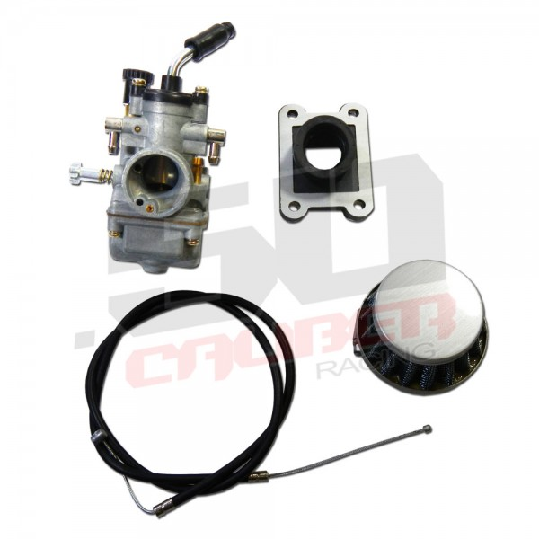 replacement carburetor and intake kit for ktm 50cc sx pro lc pit