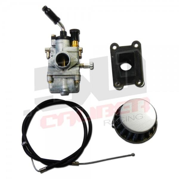 e057aad1fc2c9 ... Replacement Carburetor and Intake Kit KTM 50 SX - - HP Carburetor