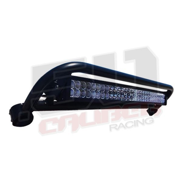 Polaris rzr roll cage straight light bar rack mount with led light xp900 polaris rzr roll cage straight light bar rack combo with 30 inch led light bar mozeypictures Images