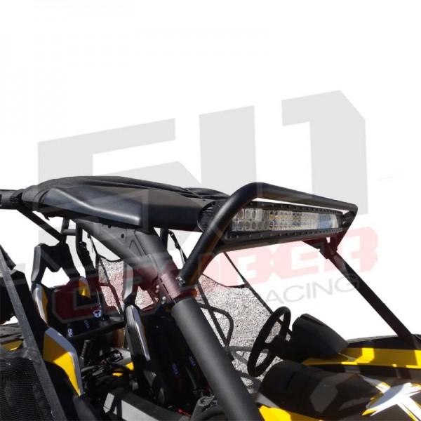 "Can-Am 2013 Clamp-on Roll Cage LED 50/"" Light Bar Brackets Commander Maverick UTV"