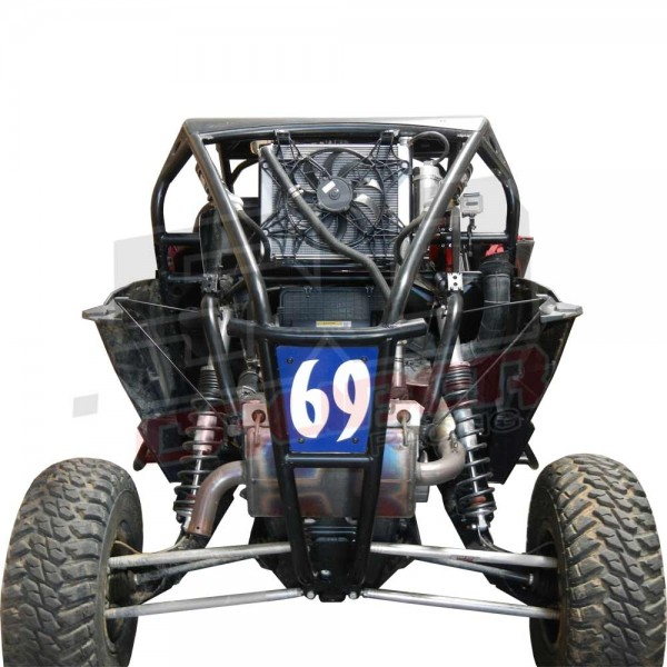 Polaris RZR 900 S Custom Pro Racing Roll Cage and aluminum roof for