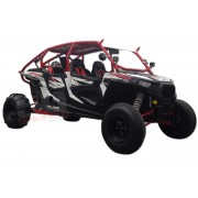 RZR 4 Xp1000 Roll Cage Rear View