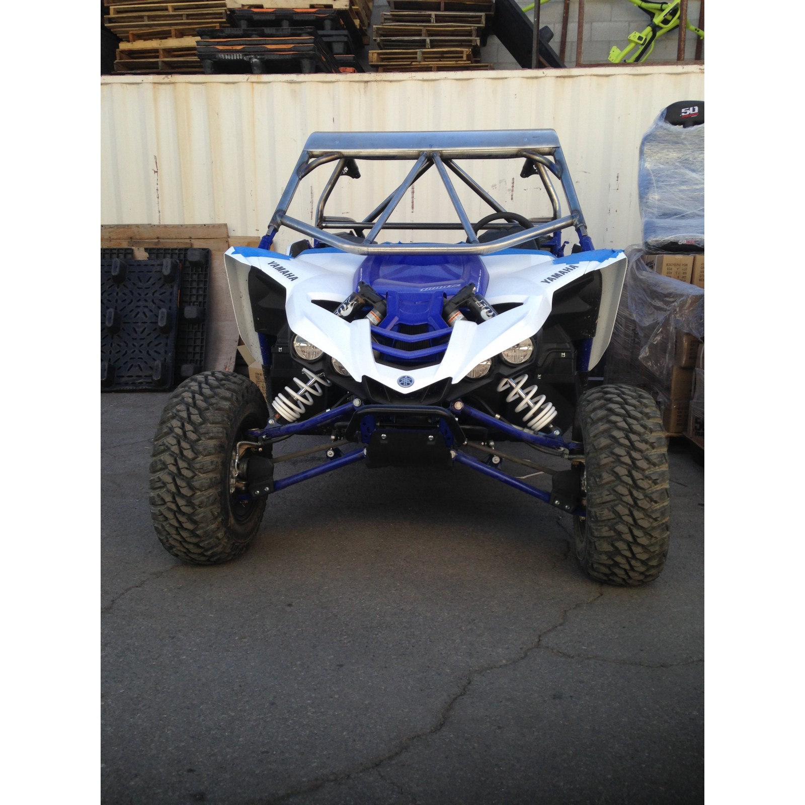 Yxz 1000r Roll Cage With Aluminum Roof