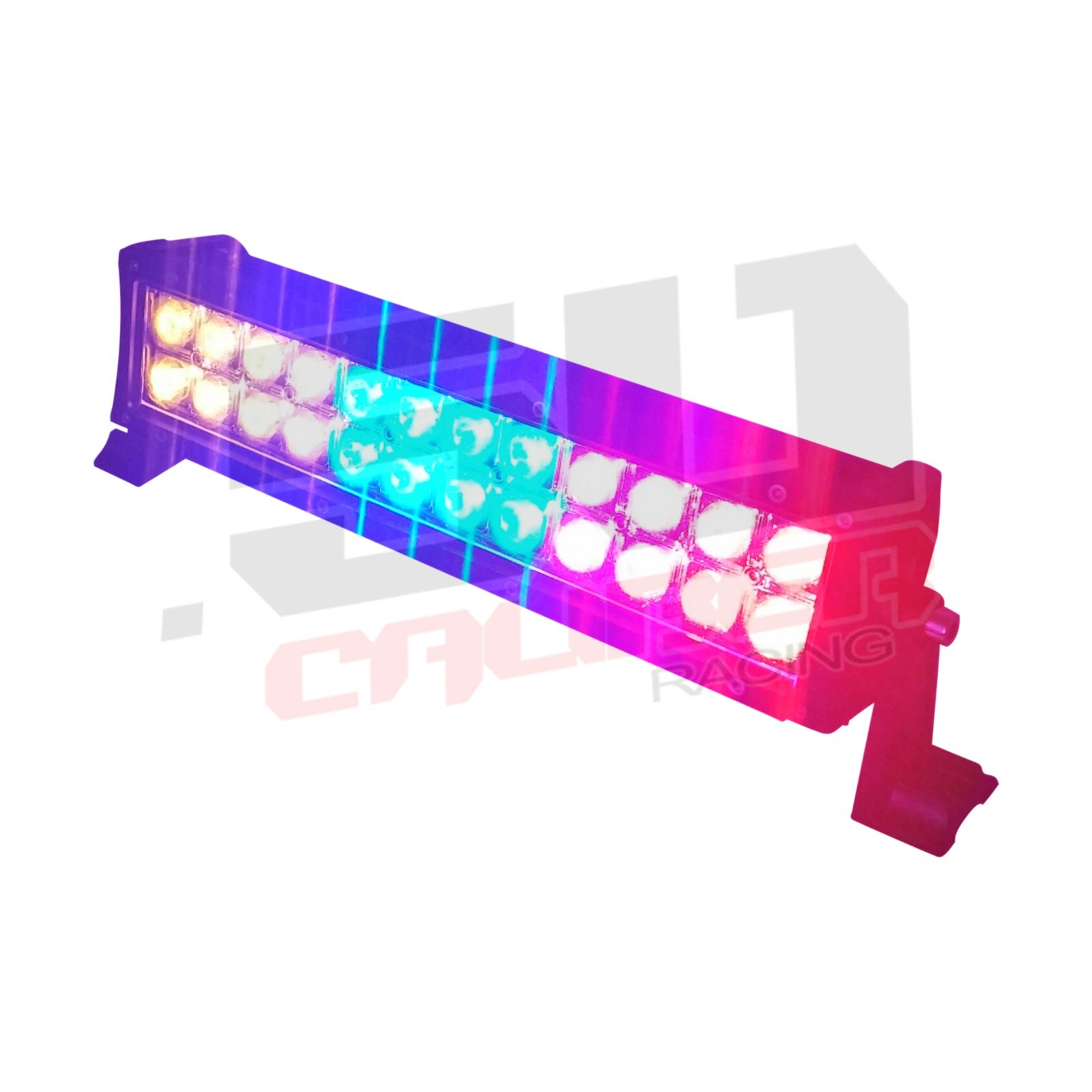 Multicolor flashing 12 inch led light bar with wireless remote for 12 inch multicolor led light bar with wireless remote amazing red blue and amber light aloadofball Image collections