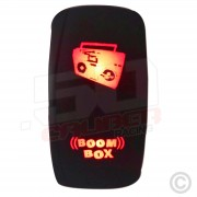 On/Off Rocker Switch Boom Box Light 50 Caliber Racing