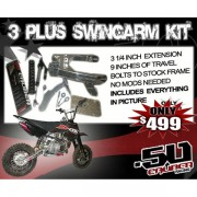 .50 Caliber Extended Swingarms Kit 1