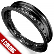 BLACK - High quality 50 Caliber Racing pit bike Rims
