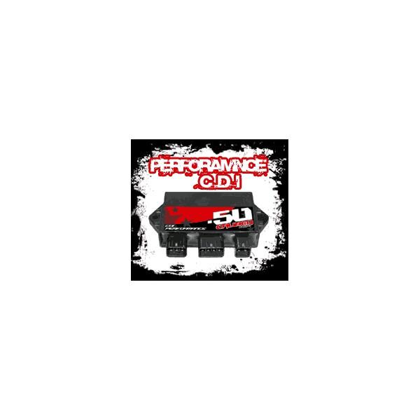 50 cal's Yamaha Rhino 660cc Performance CDI box also fits