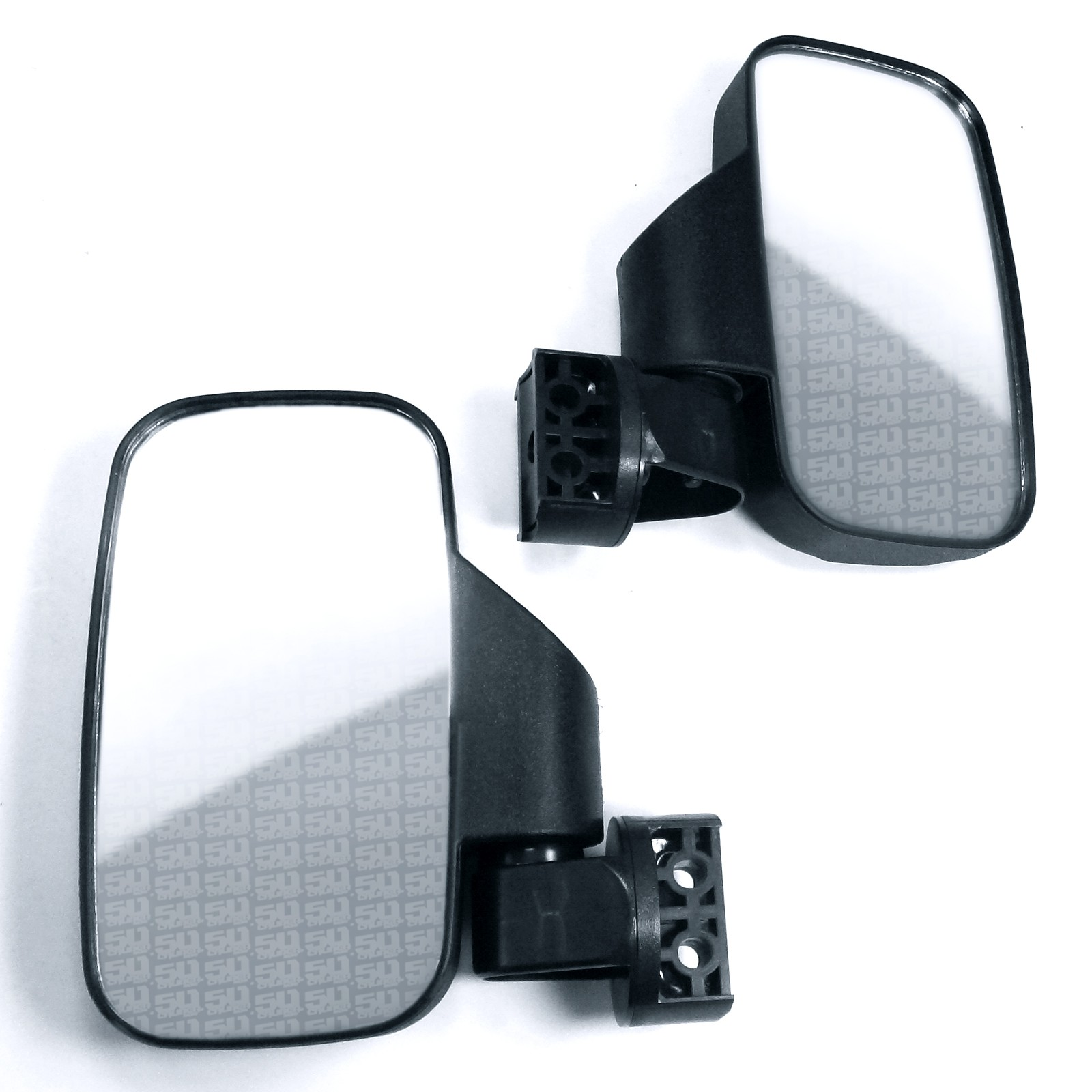 Kubota 900 1100 1140 RTV Break-Away Left /& Right SIDE MIRROR Shatter-Proof SET