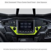 Ride Command XP1000 1 Piece Dash Panel - Black