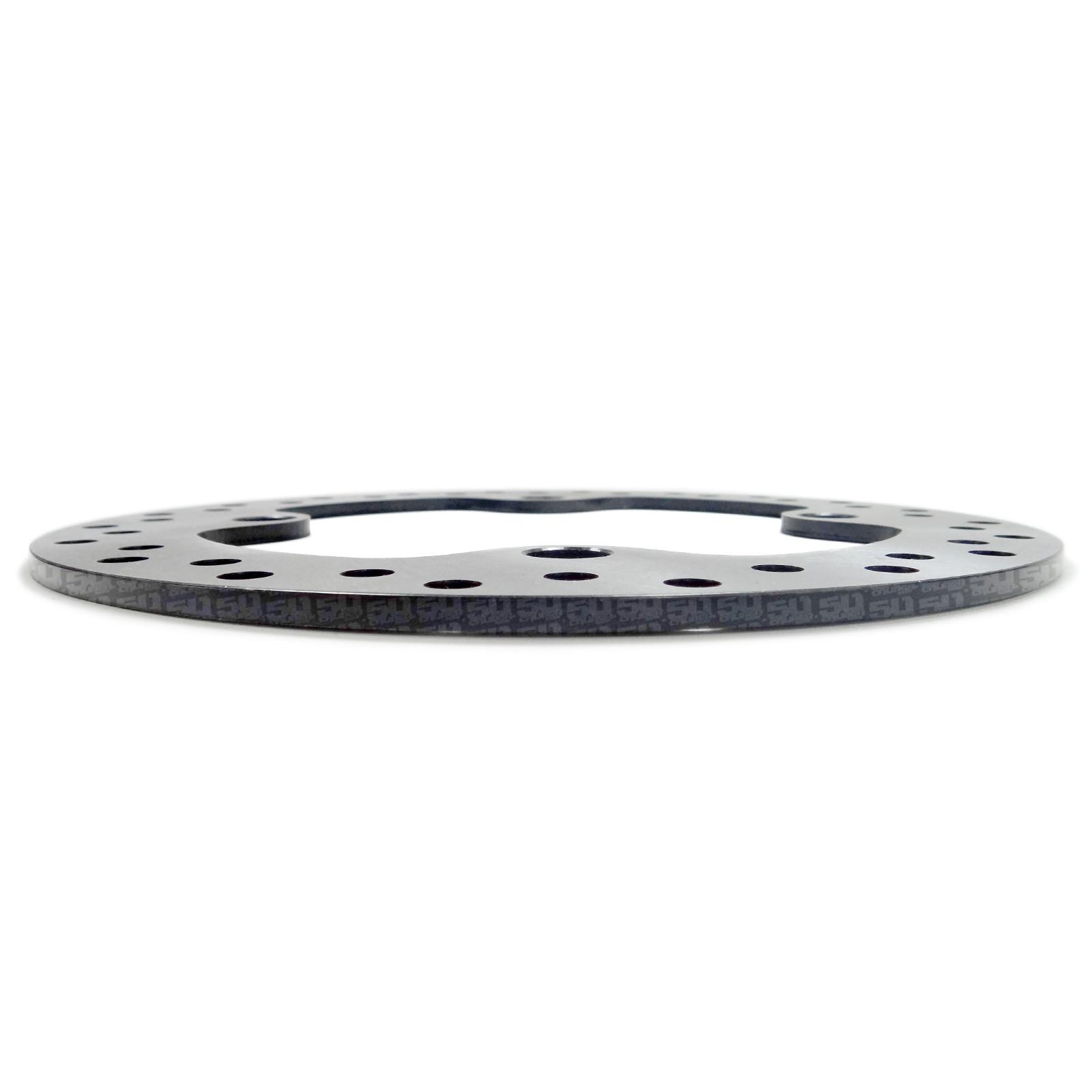 """Single RZR XP1000 Front Cross Drilled 9.75/"""" Diameter Disc Brake Steel Rotor UTV"""