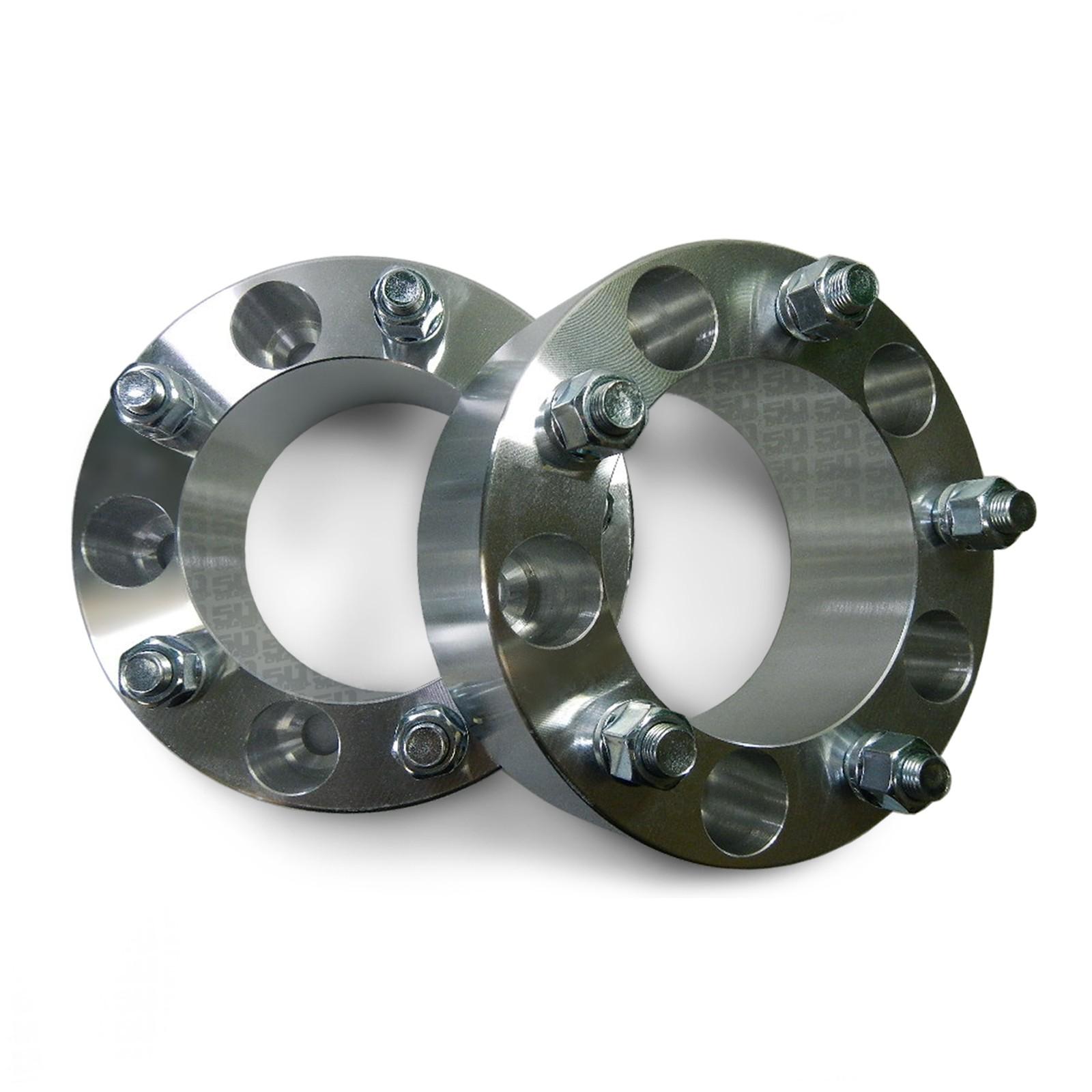 50 Caliber Racing 5x150mm 2 inch Aluminum Wheel Spacers