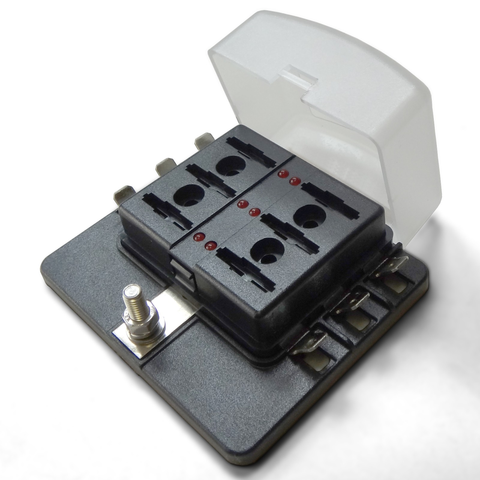 Universal 6 Way Standard Led Circuit Blade Power Block Ledcircuit Fuse Box
