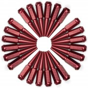 RED - 12x1.5mm Spiked Lug Nuts
