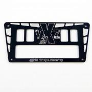 YXZ 1000R Custom CNC 4 Switch Dash Panel