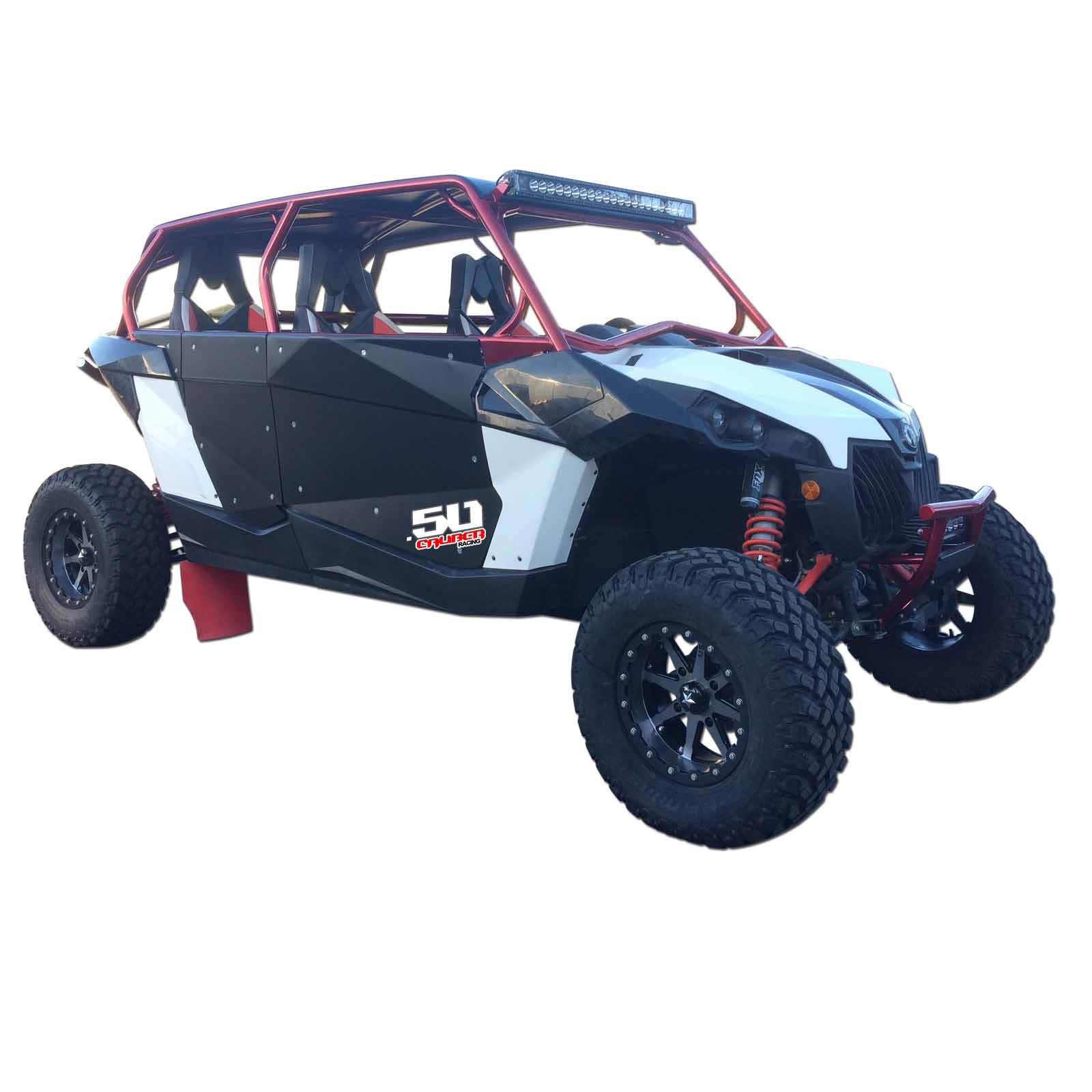Can Am Maverick Max Low Back Roll Cage With Lowered Seat Bases