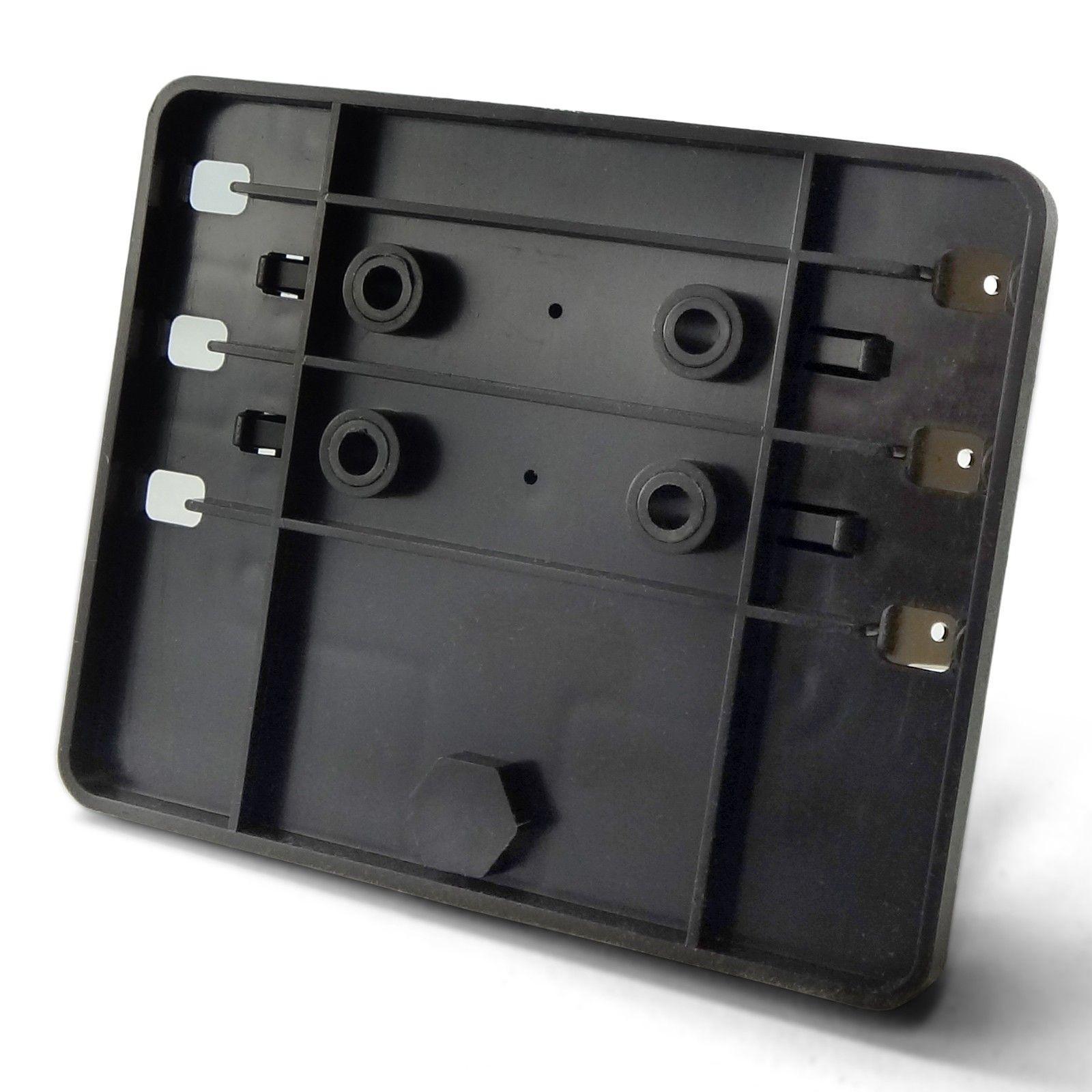 Universal 6 Fuse 12v Power And Ground Block X1 Box Way Circuit Led Indicators Ring Terminals