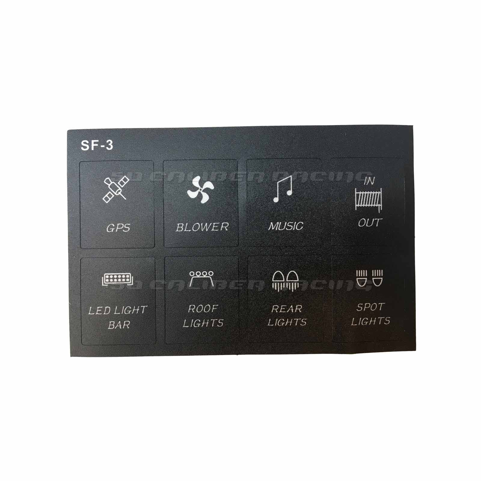 6 Way 12v Switch Touch Panel Switch Custom Design Sexy