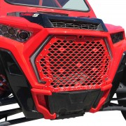 Custom Billet Grille RZR XP1000 / XP Turbo / S 2019 - Red Powdercoat
