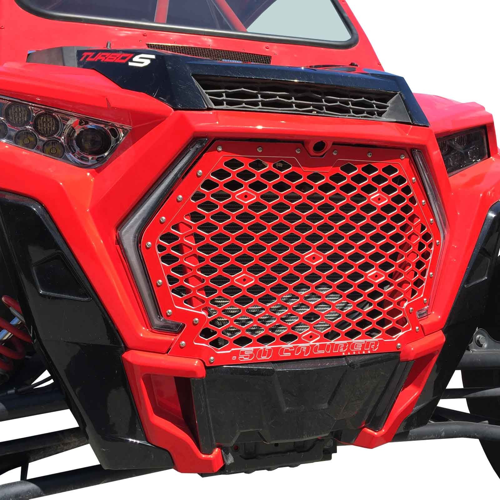 Custom Billet CNC full size Grill Polaris RZR XP1000 XP