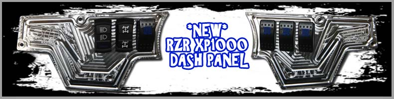 rzr xp1000 cnc dash panel