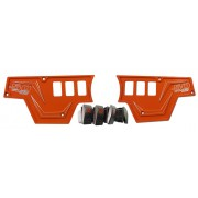 XP1000 6 Switch Dash Panel Orange