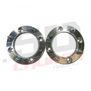 Wheel Spacers 4x156 1 inch - 12x1.5 Studs