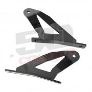 """Curved 50"""" Light Bar Mount Bracket Kit for 04-14 Nissan Titan"""