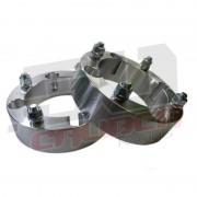 YXZ1000R Wheel Spacers 4x110 2 inch - 12x1.5 Studs billet