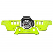 XP1000 3 piece Dash Panel (ONLY) Lime Squeeze