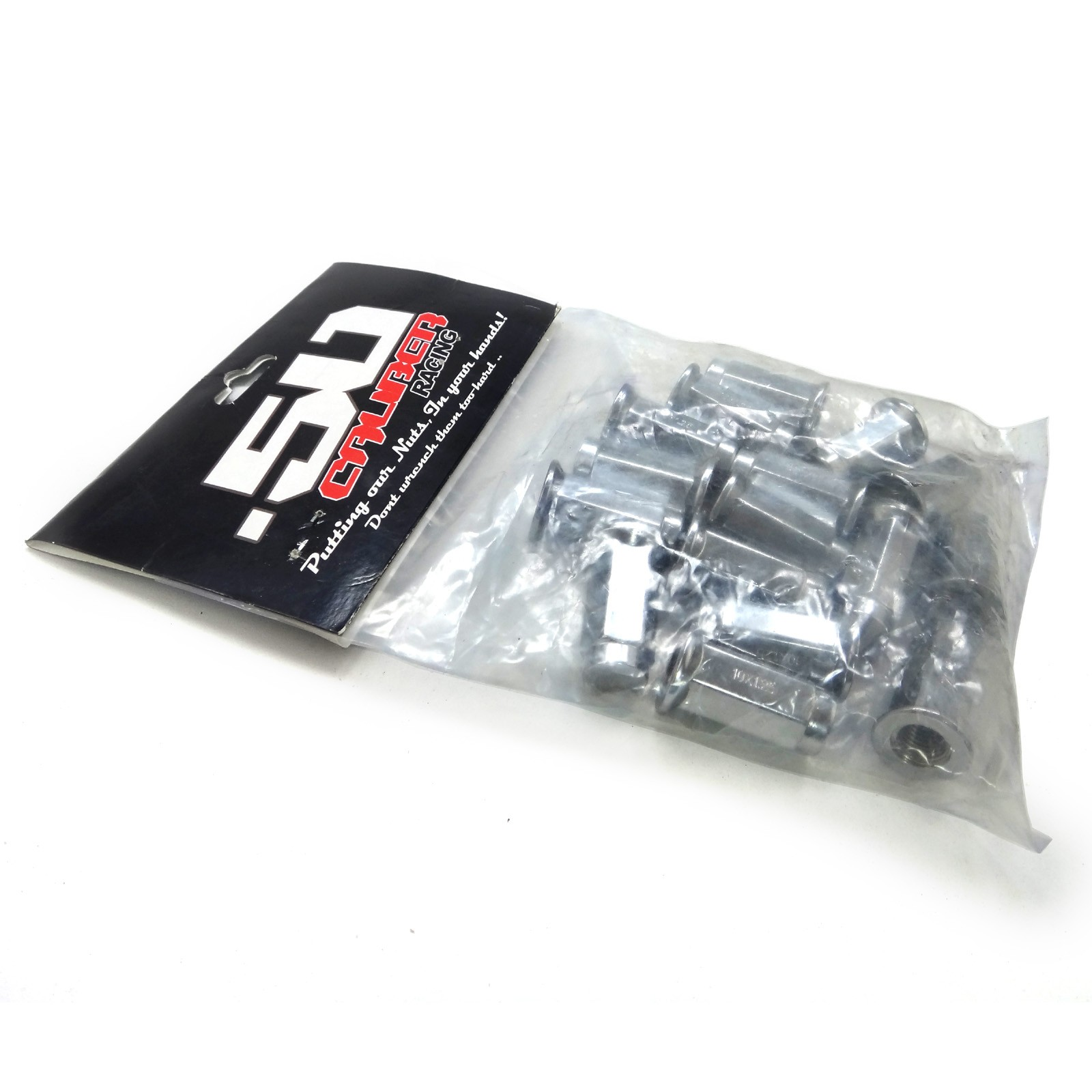 Lug Nut Set 16 Kawasaki Mule Teryx Alloy Steel Chrome Racing Flat Hex 12x1.25