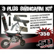 .50 Caliber Extended Swingarms Kit 2