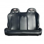 XP1000 Rear Bench Seat with Carbon Fiber Look